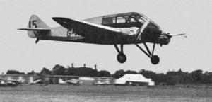 ST-10 MONOSPAR Aircraft (1934)